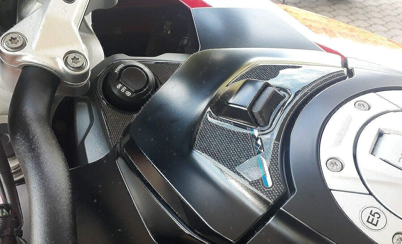 2 X 3d Aufkleber Für Schlüssel Und Kartenschlitz Kompatibel Mit Bmw S1000xr 2020 2021 Bekleidung