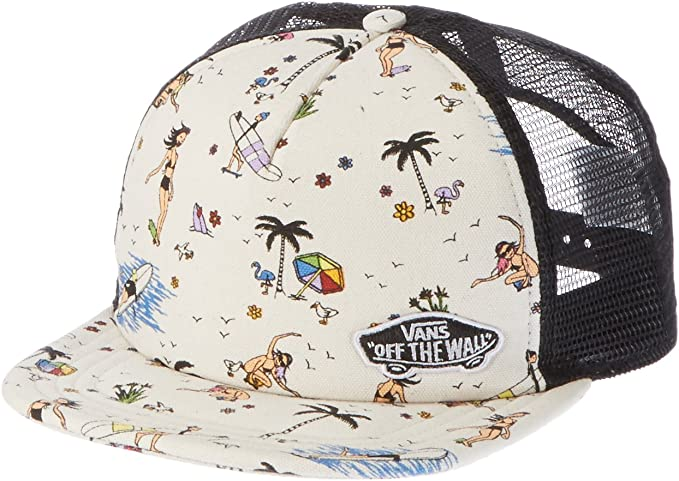 Vans Beach Bound Trucker Gorra de béisbol, (Summer Stories M2s ...