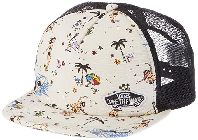 be9495b05e001 Image Unavailable. Image not available for. Colour  Vans Women s Beach  Bound Trucker Hat ...
