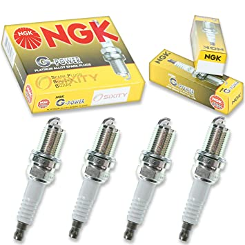 NGK G-POWER 4pcs Bujías Nissan Altima 93 - 01 2.4L L4 Kit Set Tune Up: Amazon.es: Coche y moto