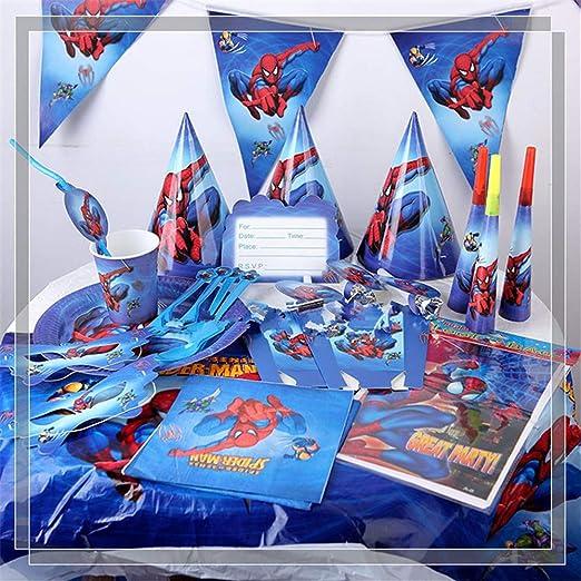 QAnter Una Fiesta de cumpleaños temática de Spider-Man ...