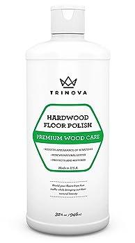 TriNova High Gloss Hardwood Floor Polish