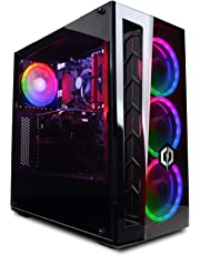 CyberpowerPC Wyvern Gaming PC - Intel Core i5-9400F, Nvidia GTX 1060 6GB, 16GB RAM, 240GB SSD, 1TB HDD, 400W 80+ PSU, Wifi, Windows 10, MB520