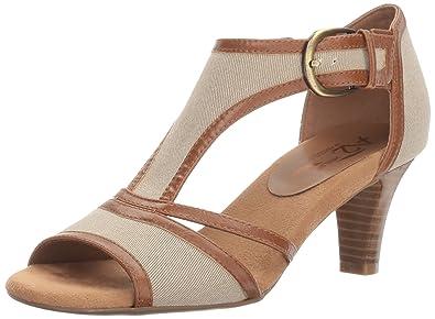 49c577fd2b8 Aerosoles A2 Women s Waterspowt Dress Sandal Tan Combo 7.5 ...