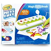 Crayola Color Wonder Magic Light Brush, Mess Free Painting, Paints For Kids, Gift for Kids, Ages 3, 4, 5
