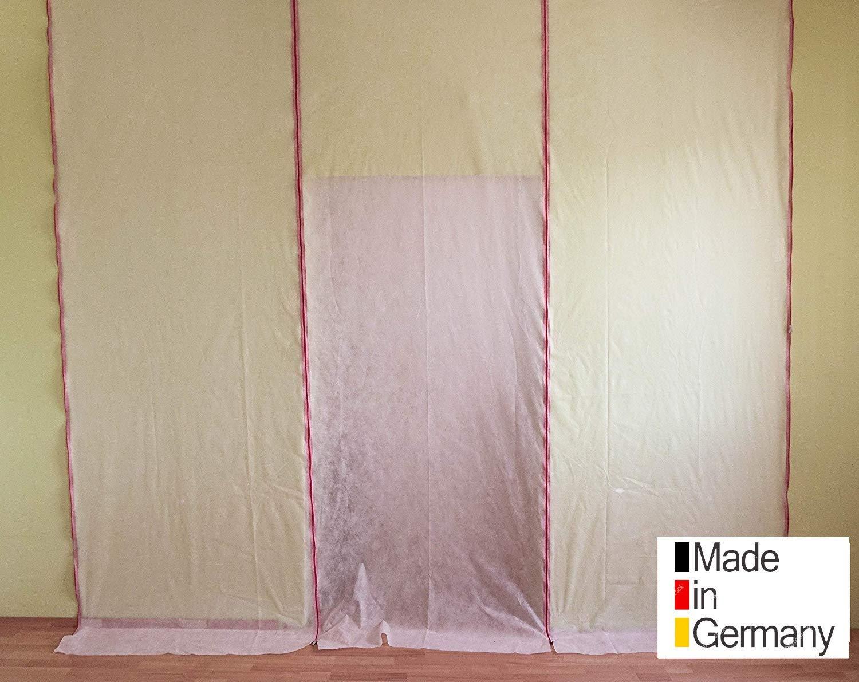 Staubschutzt/ür /&Staubschutzwand Set!Made in Germany-Qualit/ät Fedo! 2er-Set