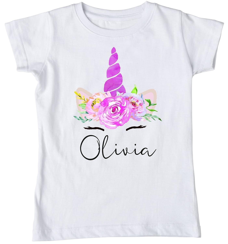 Unicorn Shirt Birthday Custom Personalized Girls Tshirt Boho Magical