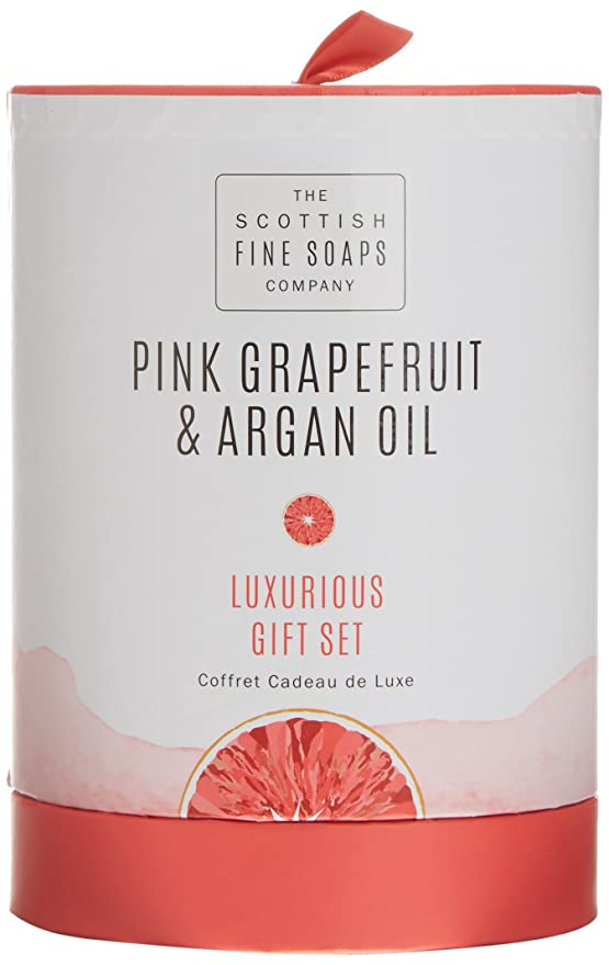 Scottish Fine Soaps Pink Grapefruit & Argan Oil - Mantequilla corporal en tarro 200 ml: Amazon.es: Belleza