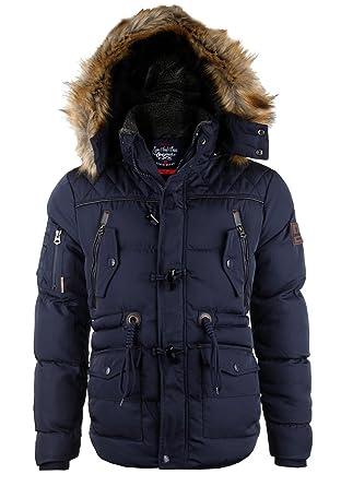Spitzenstil heißer Verkauf online Vielzahl von Designs und Farben Cipo & Baxx Herren Winterjacke Parka CM107 | Sale%