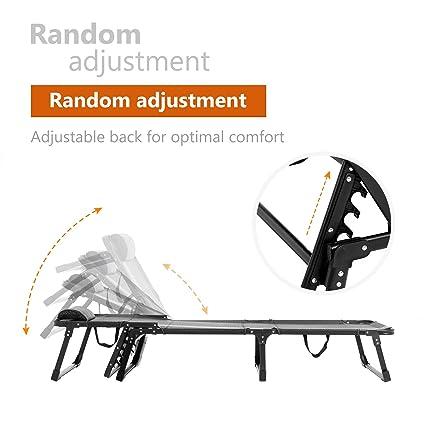 Amazon.com: mecor - Cama plegable para exterior, para ...
