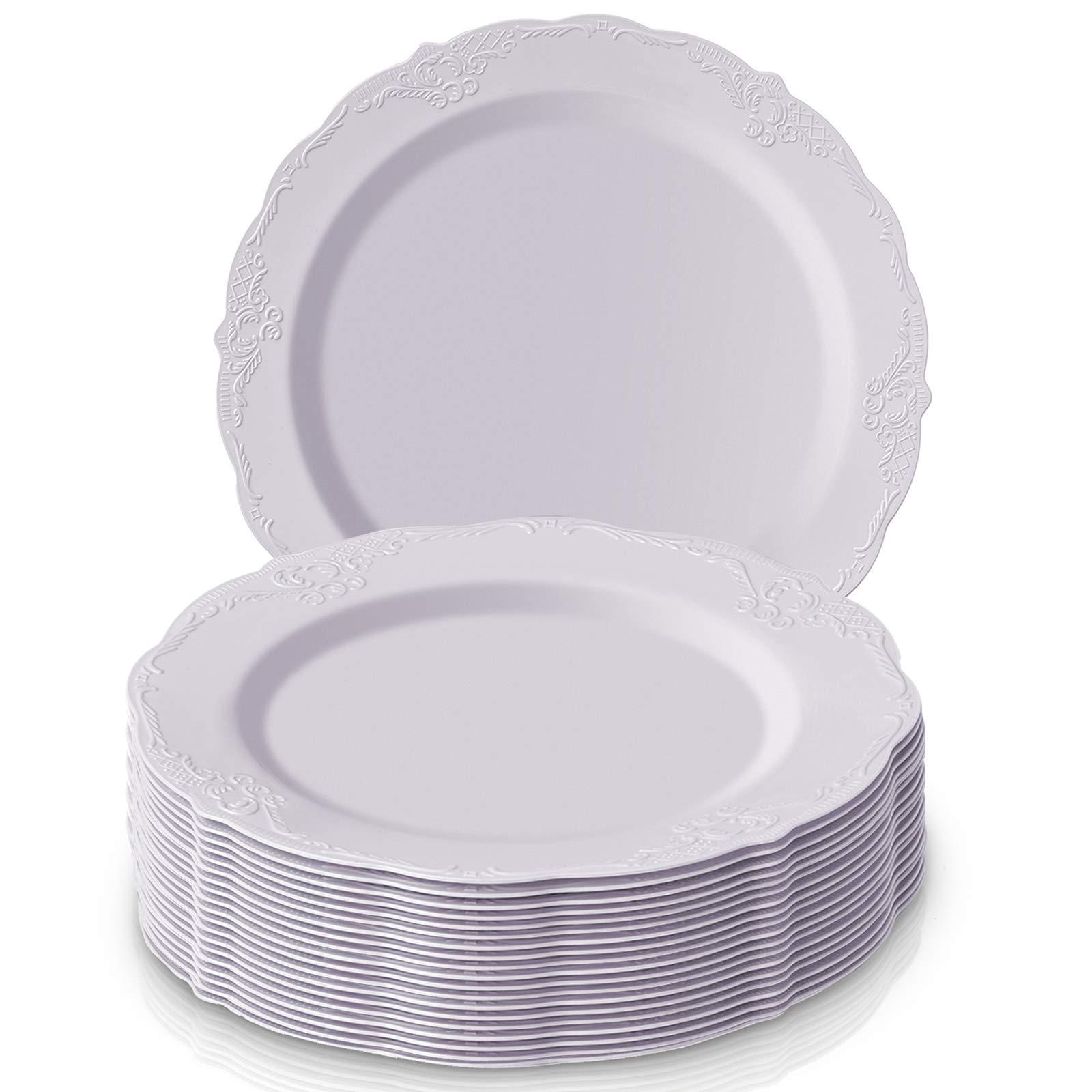 DISPOSABLE DINNERWARE SET, 20 Dinner Plates