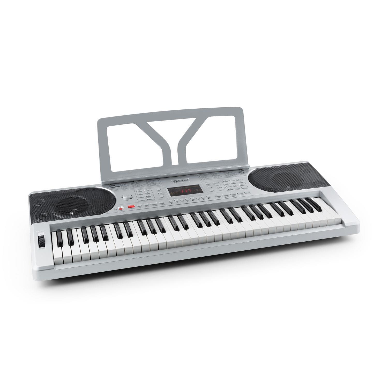 Schubert Etude 300 • teclado • piano eléctrico • 61 teclas • sensibilidad a la rapidez • 300 voces • 300 ritmos • 50 pistas demo • acordes • función de grabación • metrónomo • negro PN2-ETUDE-300-B