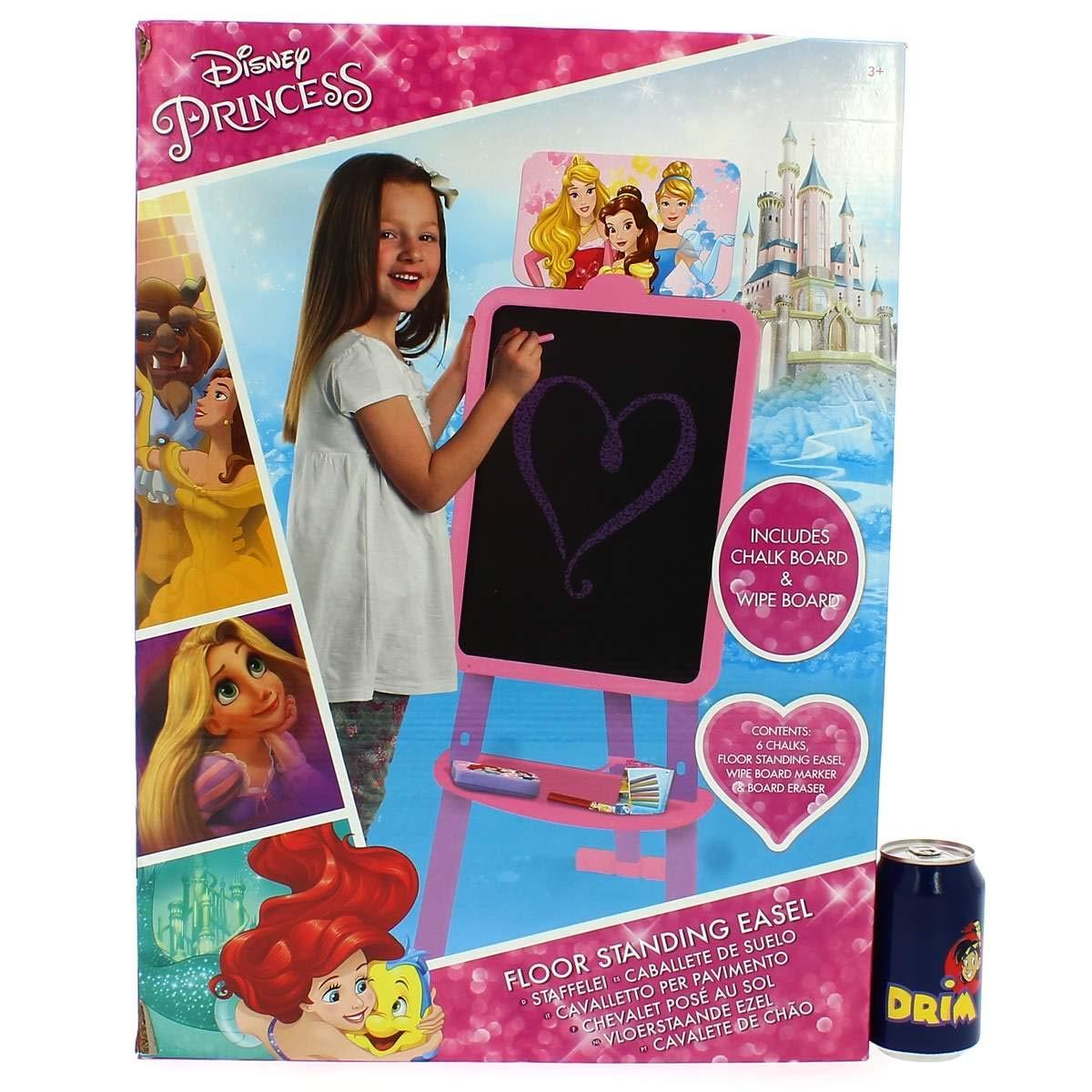 Sambro Princesas Disney Pizarra pie 2en1-120x40x38cm, DSP13-4565