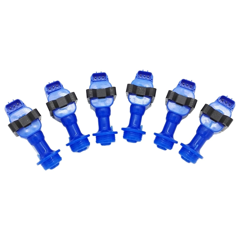 6 PCS Ignition Coil Pack for Nissan Skyline RB Series 1 R32 R33 B20DET RB25DET RB26DETT 22433-60U02