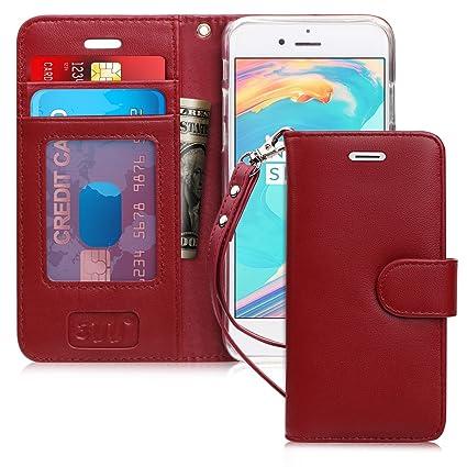 Amazon.com: FYY - Funda tipo cartera para iPhone 7 y iPhone ...