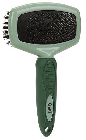 Doble Cepillos para perros y gatos, Cepillo de pelo Cuidado con ángulo cepillo de dientes finos, tirón rectangular 20 cm aprox.: Amazon.es: Productos para ...