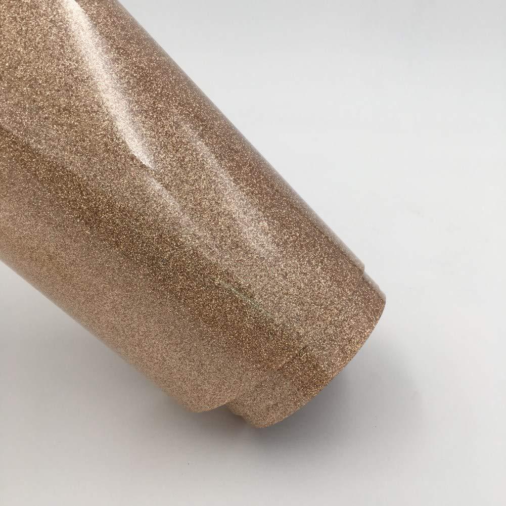 per magliette per bambini 14 colori HTV per silhouette e cricut Magenta borse Confezione di adesivi glitterati in vinile a trasferimento di calore borse fai da te magliette