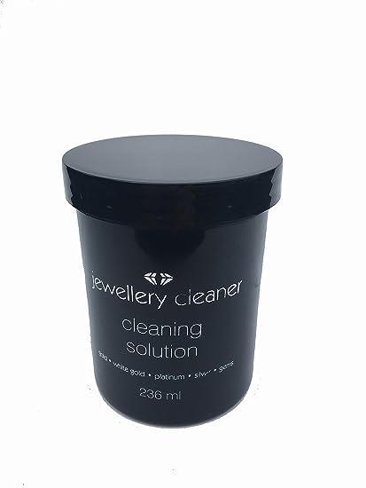 TJ - Producto con cepillo y cesta de 236 ml, reutilizable, para limpiar oro