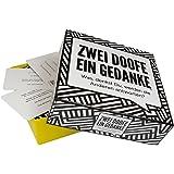 Kylskapspoesi AB KYL43020 - Zwei Doofe ein Gedanke - Hier gleicht keine Runde der Anderen, Kartenspiel