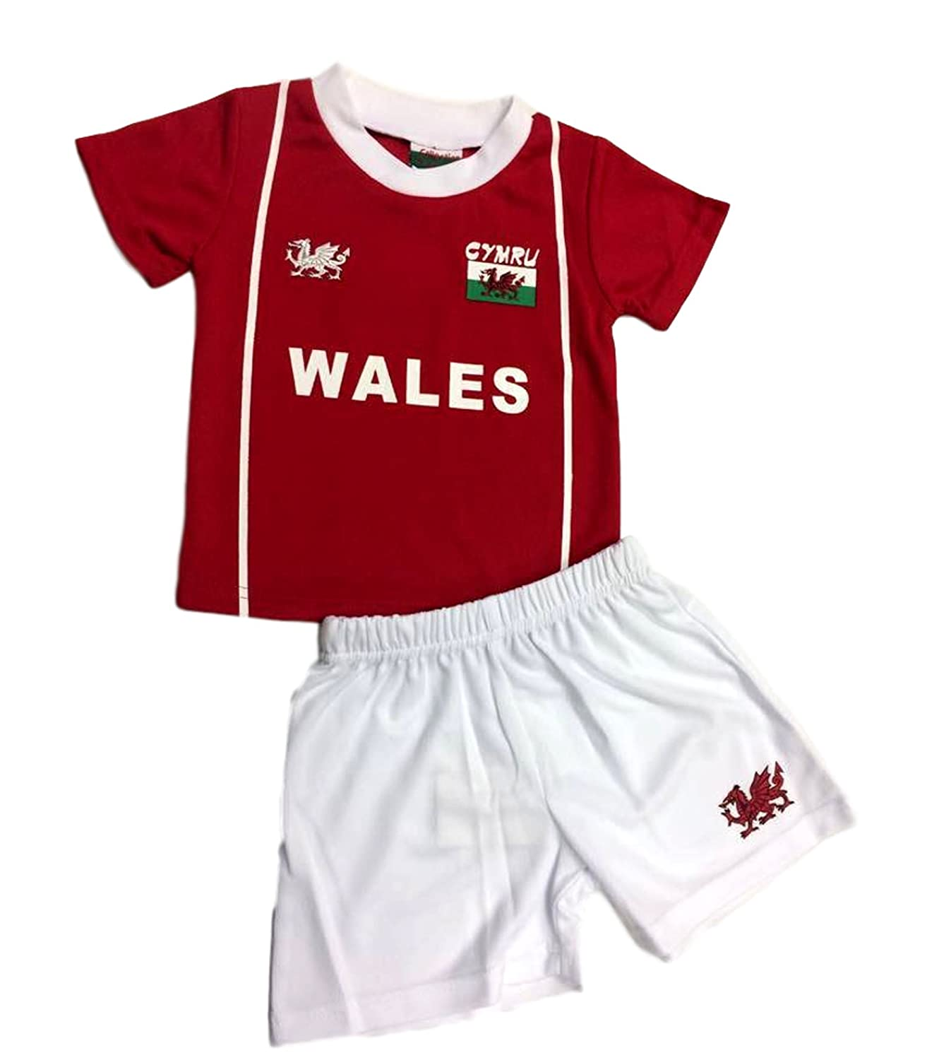 Manav Welsh Football Kit Wales