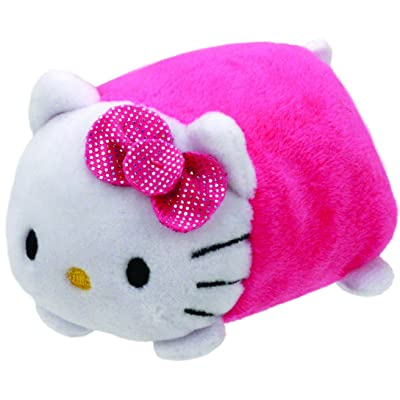 """Teeny Ty Hello Kitty Pink 4"""": Toys & Games"""