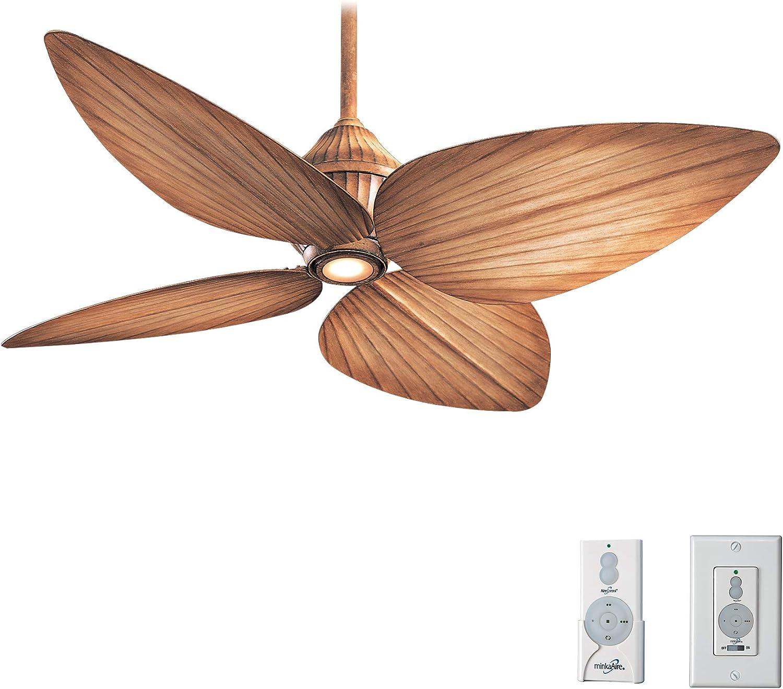 Minka-Aire F581-BG, Gauguin Bahama - Ventilador de techo para ...