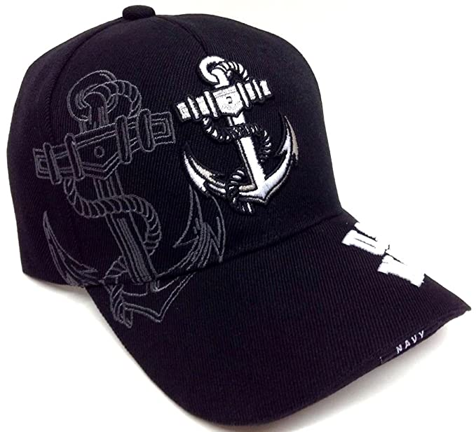 8facc81b793 Black Anchor United States Navy Hat  Amazon.ca  Jewelry