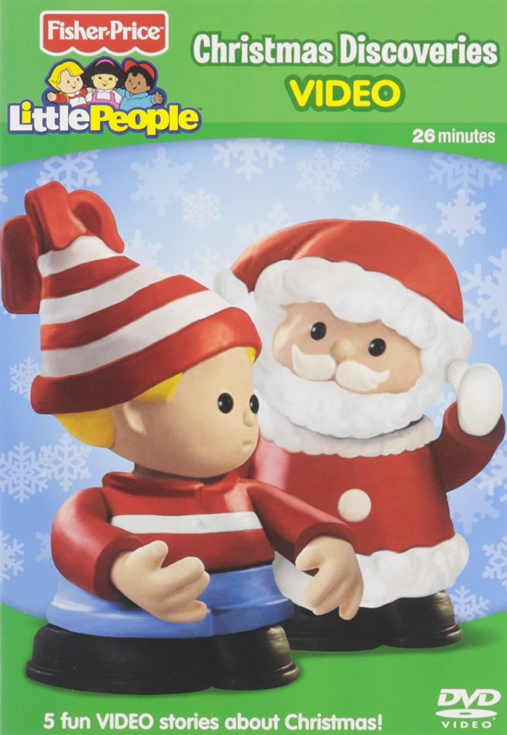 Amazon.com: Fisher-Price Little People: Christmas Discoveries ...
