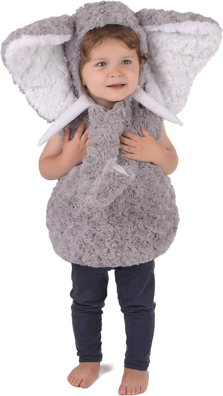 Generique - Disfraz Elefante Gris niño 3-4 años (98-104 cm ...
