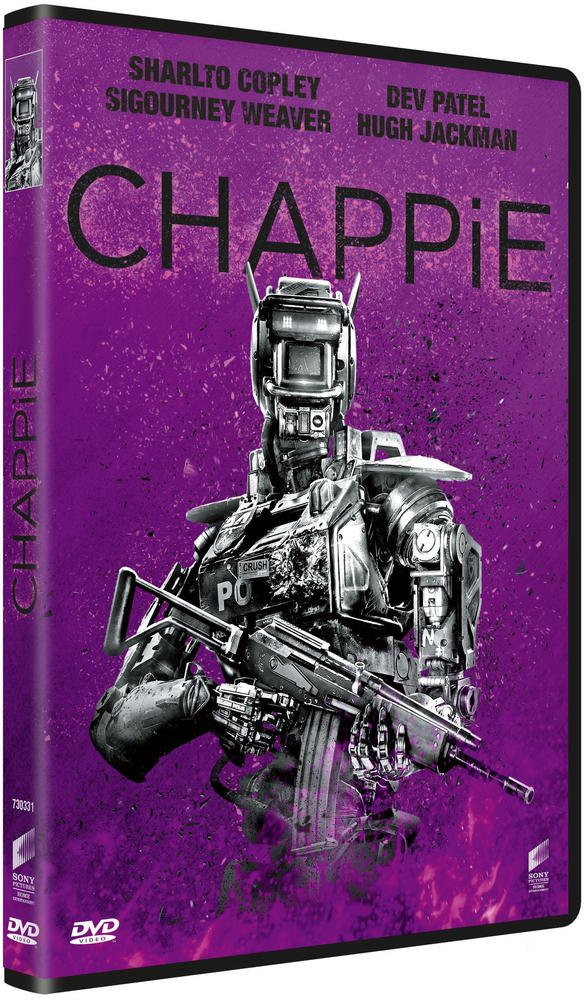 Chappie [Francia] [DVD]: Amazon.es: Sharlto Copley, Dev ...
