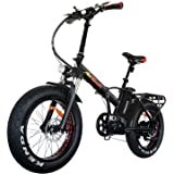Addmotor MOTAN Electric Bike Folding 750W Front Fork Suspension 20Inch Fat Tire Electric Bicycle 48V 11.6AH Lithium Battery Mountain Snow Beach M-150 P7 E-bike 2018 For Adults
