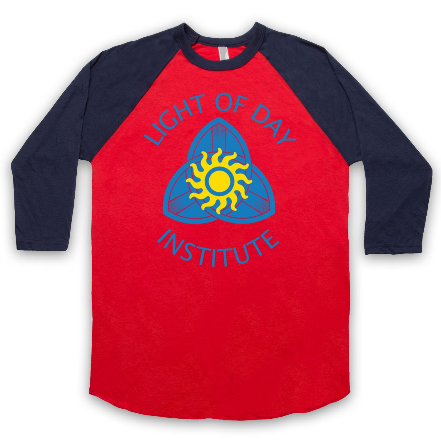 Inspired by True Blood Light Of Day Institute Unofficial 3/4 Sleeve Retro Baseball Tee