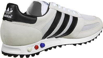 Refinería bahía Felicidades  adidas LA Trainer OG Shoes White/Black/Brown: Amazon.co.uk: Shoes & Bags