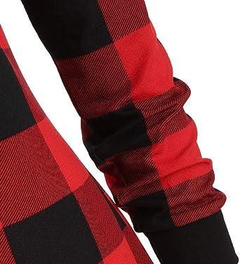 Battnot damska gÓrna część elegancka vintage wolna od ramion czerwona pled nadruk nieregularny brzeg czarny duże rozmiary czas wolny tunika top guzik tartan, kobiety casual długi rękaw Slim