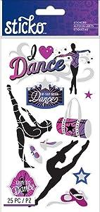 Sticko Classic Dance Stickers
