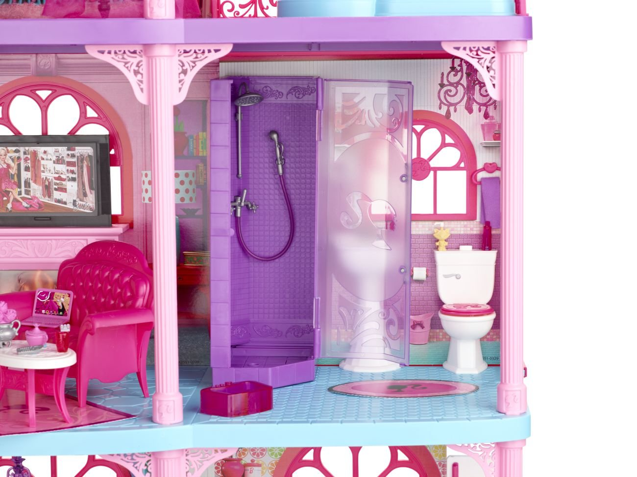 Vasca Da Bagno Barbie Anni 70 : Vasca palestra di barbie valigetta camera posot class