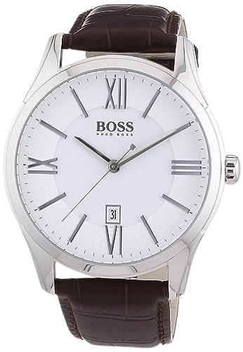 bd6b01437d90 Reloj con mecanismo de cuarzo para hombre Hugo Boss 1513021