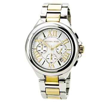 Amazon.com: Michael Kors Womens MK5653 Camille Silver- and ...