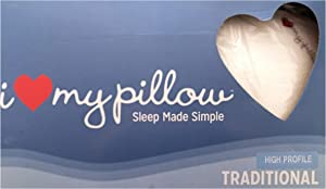 I Love My Pillow Traditional (Standard)