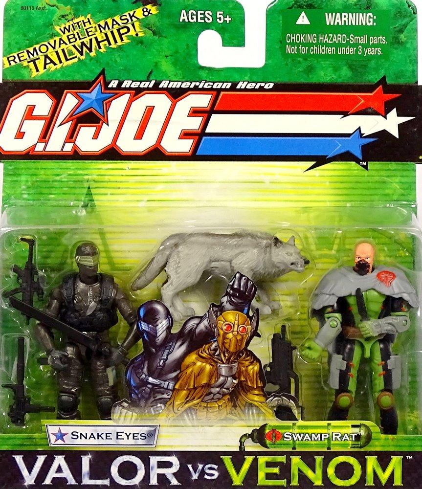 "3.75/"" GI Joe Cobra B.A.T A Real American Hero Bat Action Figure Boy Toy"