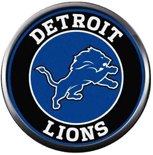 Amazon.com: NFL Detroit Lions - Abalorio de diseño de ...
