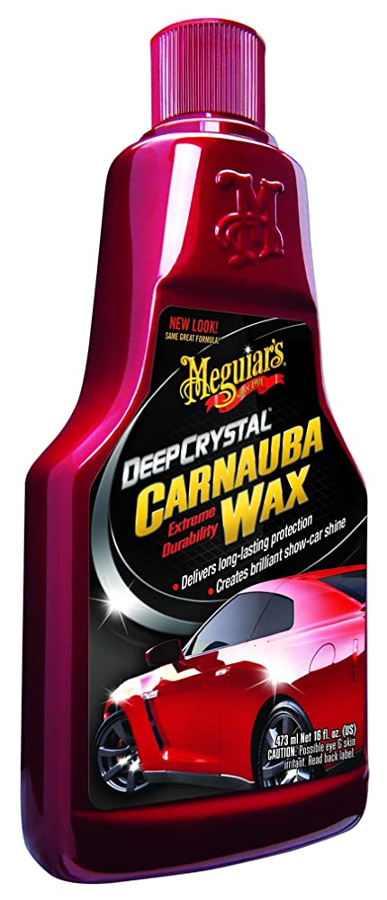 4. Meguiar's A2216 Deep Crystal Carnauba Wax - 16 oz.
