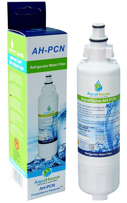 AquaHouse AH-PCN filtro de agua compatibles para Panasonic nevera ...