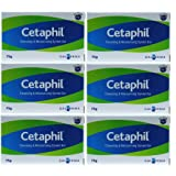 Cetaphil Cleansing & Moisturising Syndet Soap Bar - 75g x 6 Pack