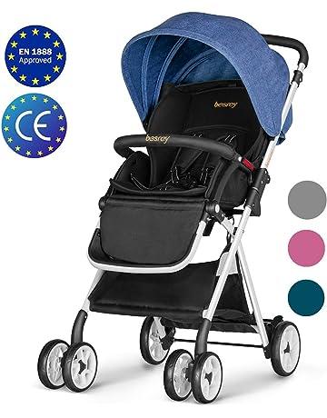Besrey Cochecito de bebe plegable Carrito de bebe Silla de paseo 6-36 meses seguridad