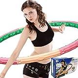 S23 Health Hoop 0,72kg Hula Hoop mit 63 Massagenoppen  Fitnessreifen