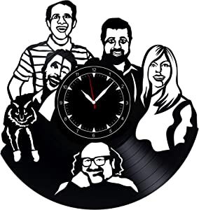 "It's Always Sunny in Philadelphia Vinyl Record Clock 12"" - Wall Clock It's Always Sunny in Philadelphia - Best Gift for It's Always Sunny in Philadelphia Lovers - Original Wall Home Decoration"