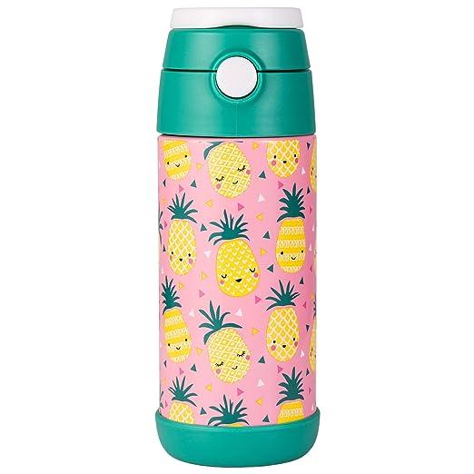 Snug - Botella de Agua aislada al vacío con Pajita para niños - Frascos térmicos