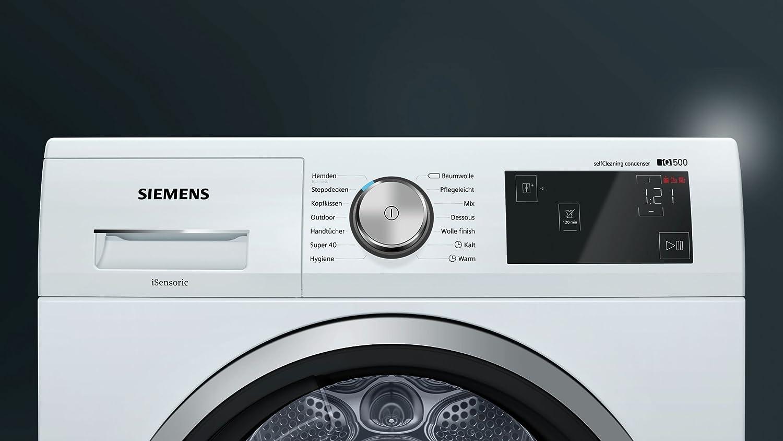 Siemens wt47w6a1 wärmepumpentrockner a digitales multitouch