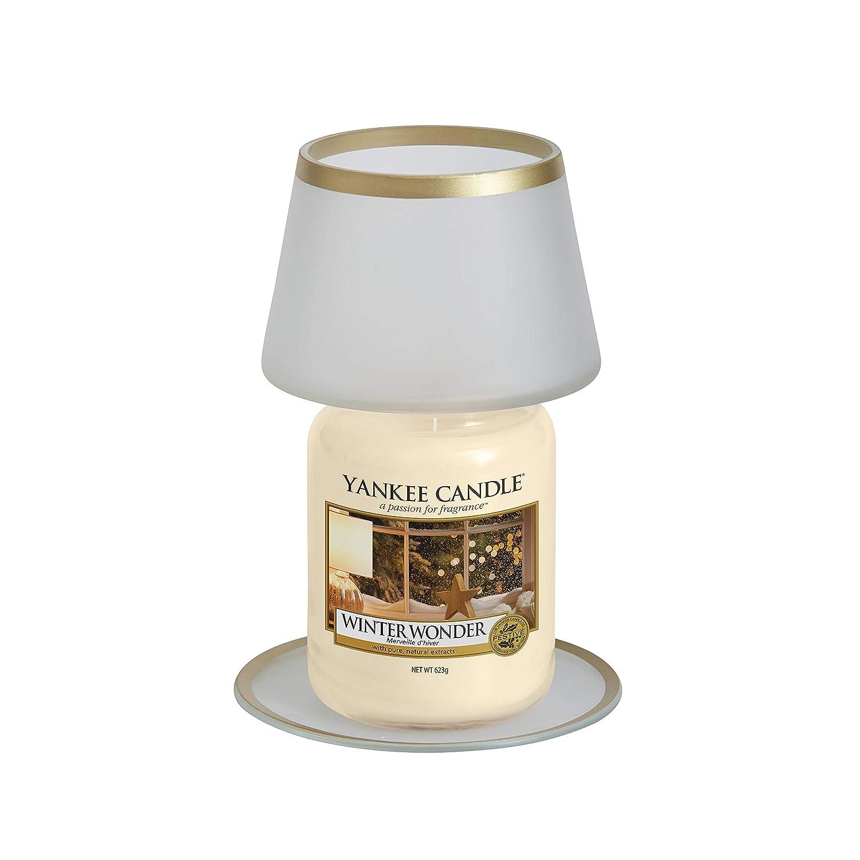 Yankee Candle Lampada Sabbiata Grande e Vassoio 1596295